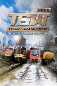 Carátula para el juego Train Sim World 2020 Deluxe Edition de Xbox One
