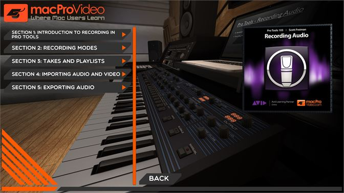 Buy Recording Audio Course For Pro Tools - Microsoft Store