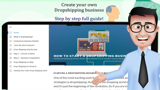 Get Dropshipping full course: dropship online business with