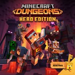 Minecraft Dungeons Hero Edition Logo