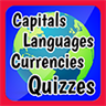 Country Capitals, Currencies and Languages Quiz