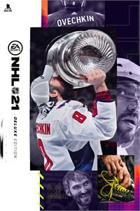 Carátula para el juego NHL 21 Deluxe Edition de Xbox 360