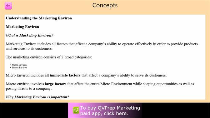 Acquista QVprep Lite Learn Marketing - Microsoft Store it-IT