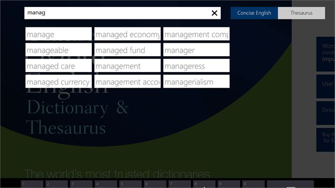 Buy Concise Oxford English Dictionary & Thesaurus - Microsoft Store