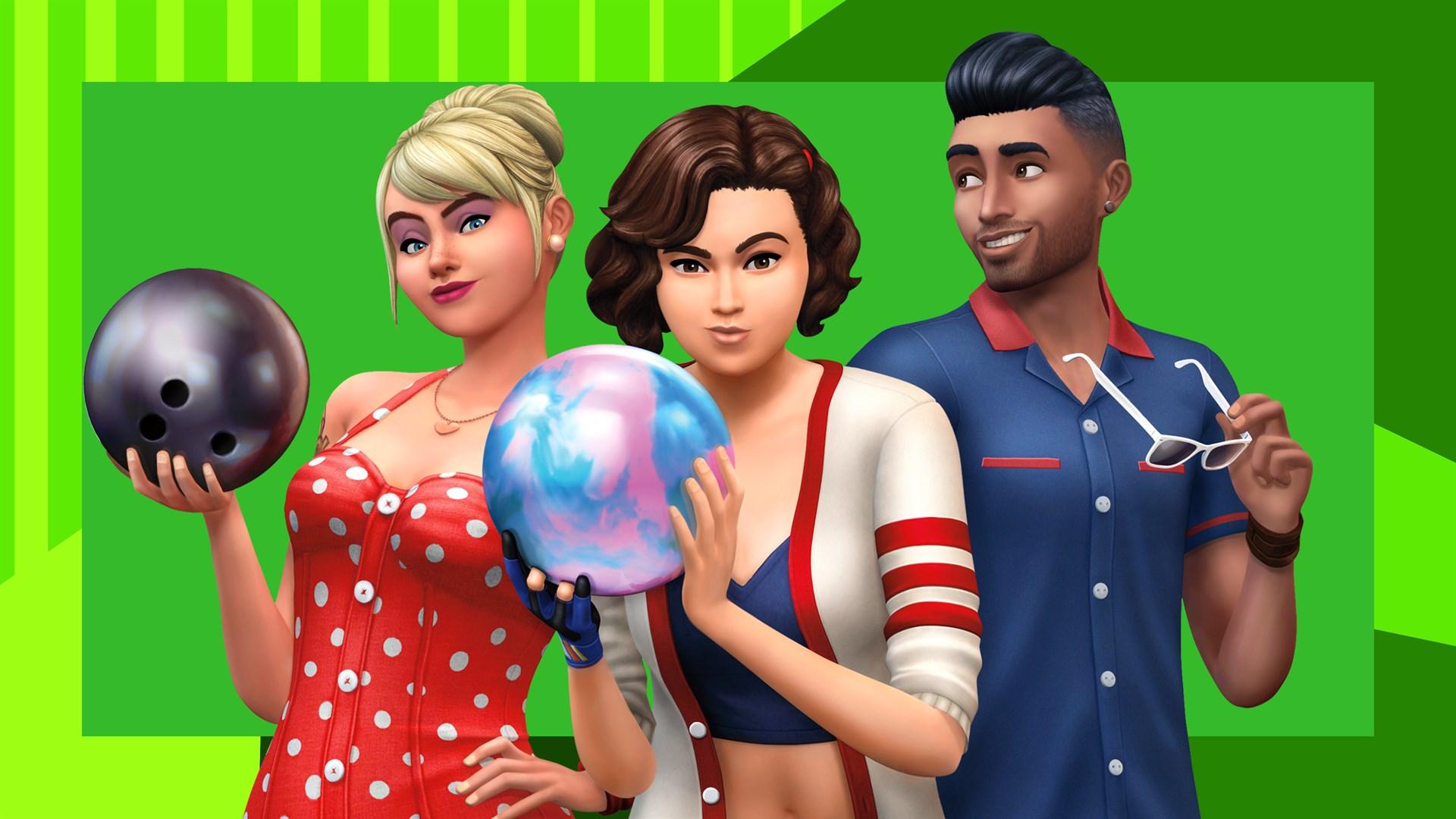The Sims™ 4 Bowling Night Stuff