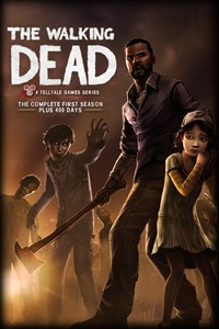 Carátula para el juego The Walking Dead: The Complete First Season de Xbox 360