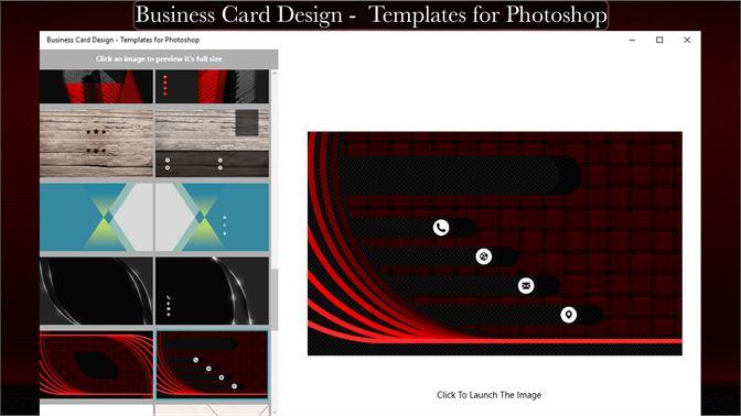 Buy business card design templates for photoshop microsoft store screenshot 1 screenshot 2 screenshot 3 friedricerecipe Images