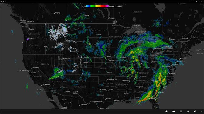 Norad Weather Map.Buy Myradar Ad Free Microsoft Store