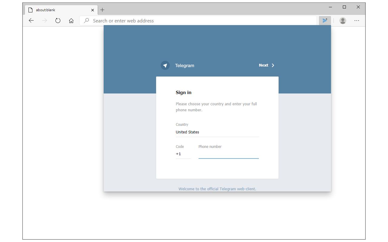 Desktop Messenger for Telegram™ – Microsoft Edge Addons