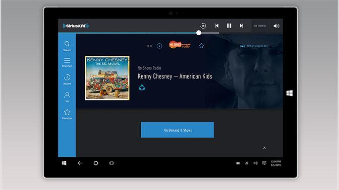 download sirius xm app