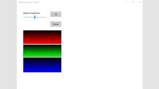 Get Display Brightness Control - Microsoft Store