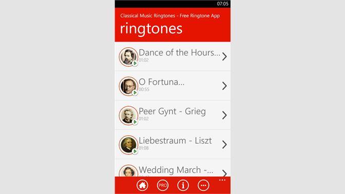 Get Classical Music Ringtones - Free Ringtone App - Microsoft Store