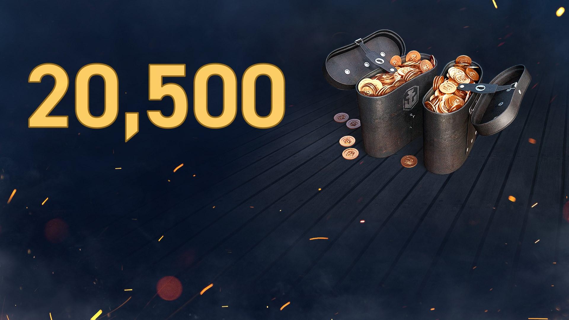 《戰艦世界:傳奇》 - 20,500 達布隆