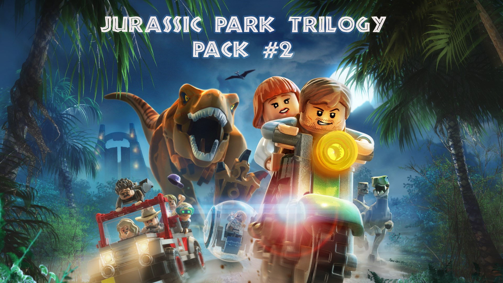 LEGO® Jurassic Park Trilogiepakket nr. 2