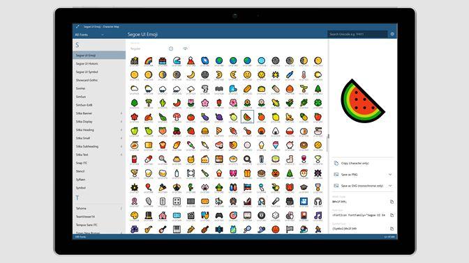 Get Character Map UWP - Microsoft Store