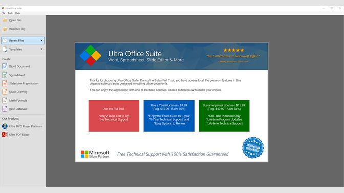 Get Ultra Office Suite - Word, Spreadsheet, Slide Editor