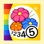 Flowers - Color by Numbers +