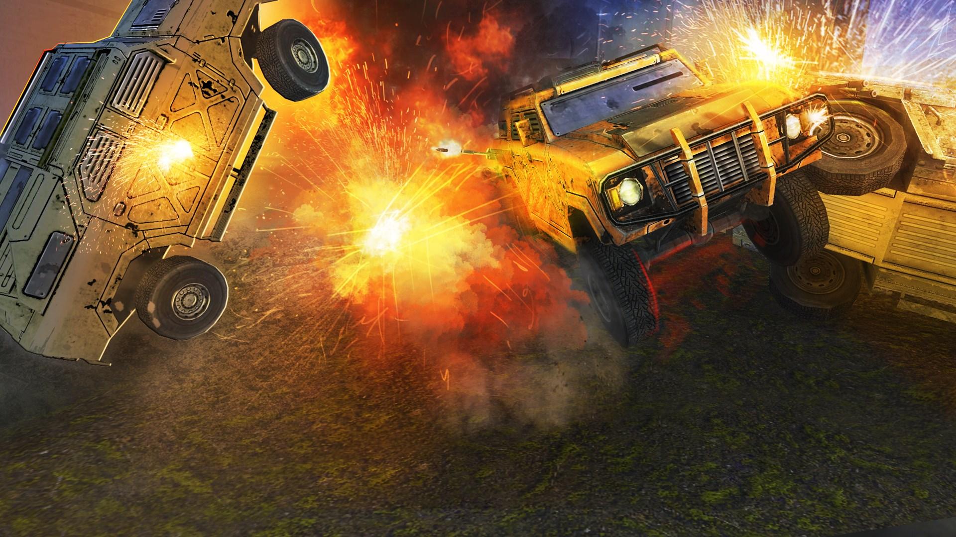 Скриншот №19 к Война Машин 2 — Арена Смерти 3D