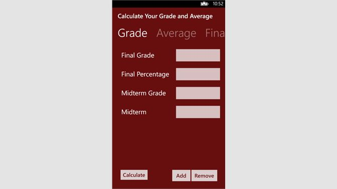 Get Calculate Your Grade - Microsoft Store