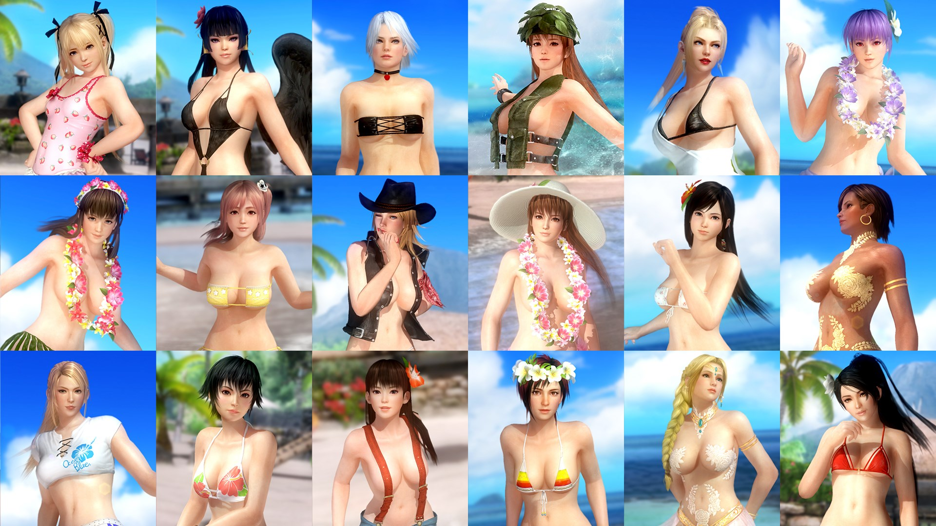 Limited Time Only! DOA5LR Summer Getaway Set + Female Fighters