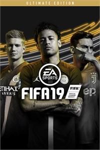 Carátula para el juego FIFA 19 Ultimate Edition de Xbox 360