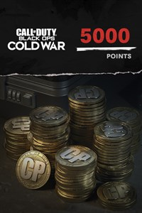 5,000 Call of Duty®: Black Ops Cold War Points