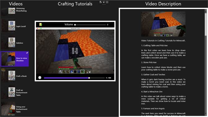 Comprar Crafting Tutorials for Minecraft: Microsoft Store es-GT