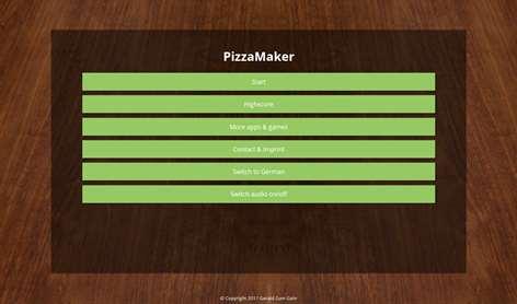 PizzaMaker Screenshots 1