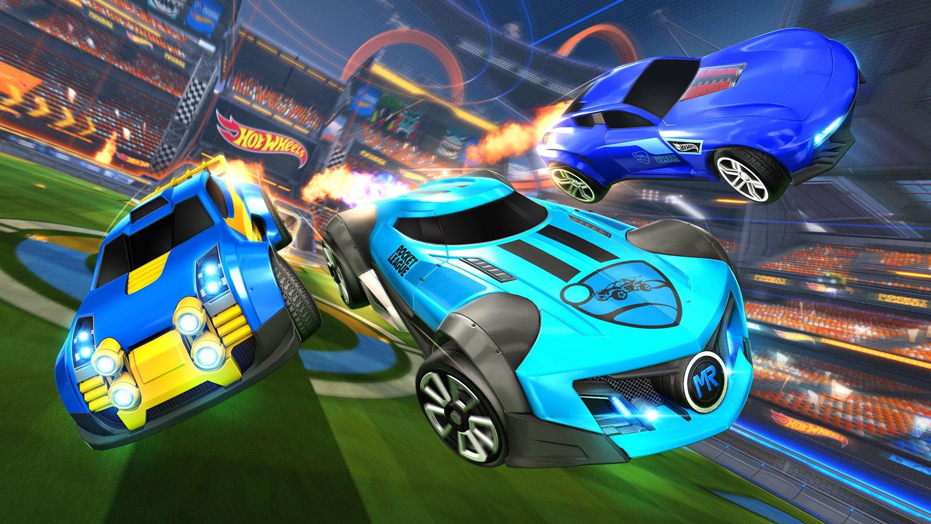 Comprar Rocket League Hot Wheels Triple Threat Dlc Pack