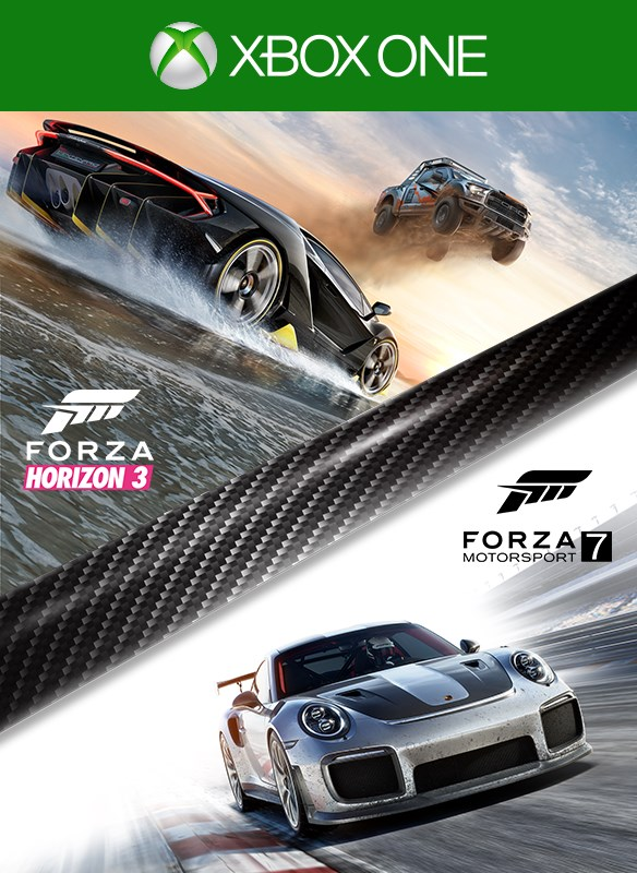 Forza Motorsport 7 and Forza Horizon 3 Bundle