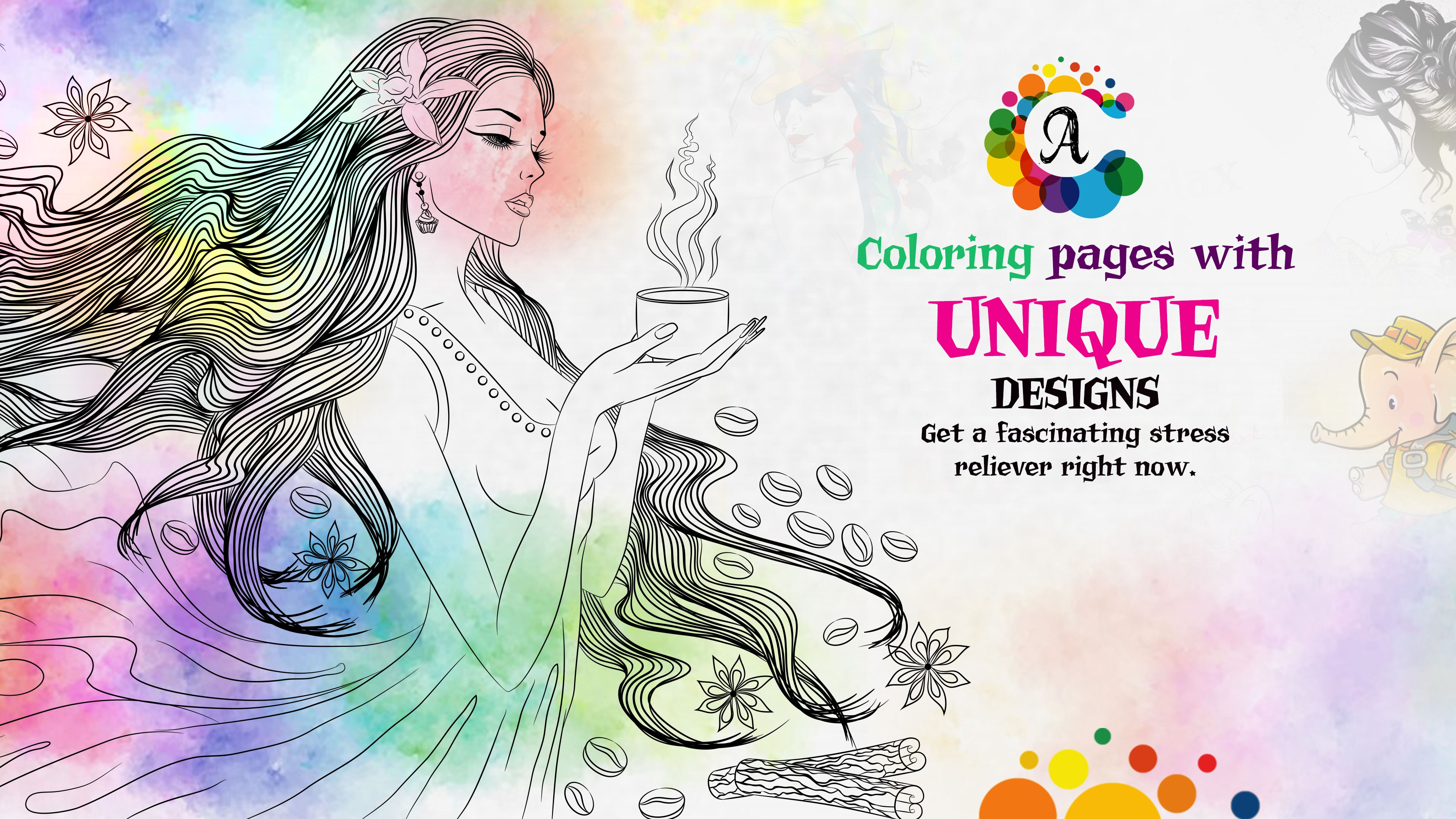 - Get Coloring Book For Me & Mandala - Adult Colouring Book