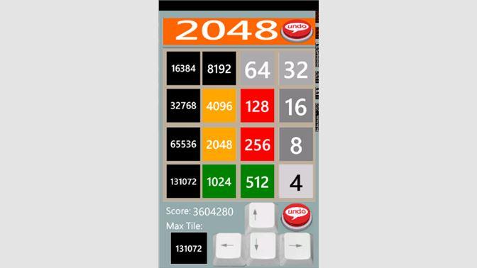 Get 2048 UNDO - Microsoft Store