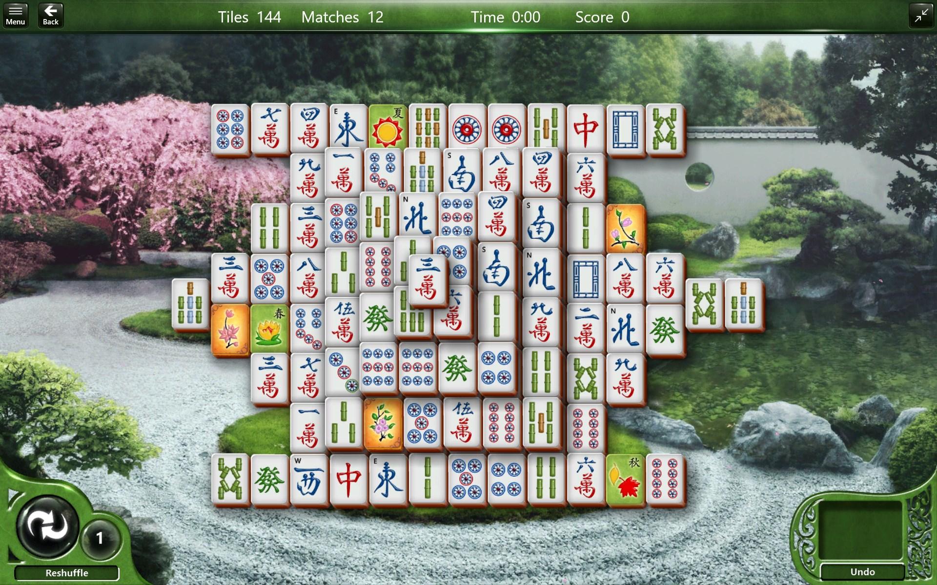 Microsoft Mahjong
