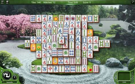 Microsoft Mahjong Screenshots 1
