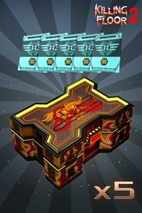 Serie #4 Verschönerungs-Bronze-Box