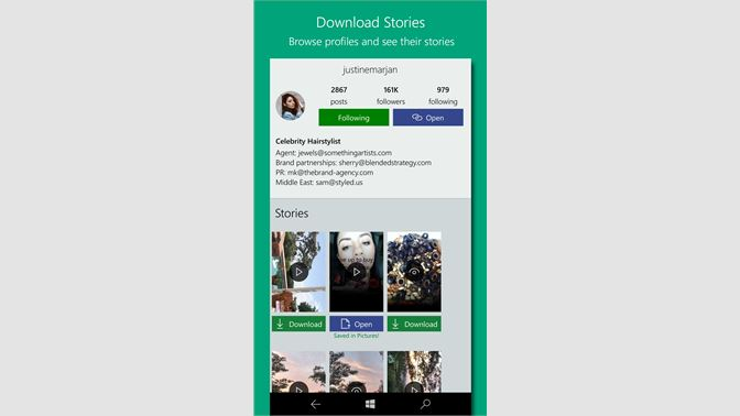 Get Story Saver Free - Microsoft Store