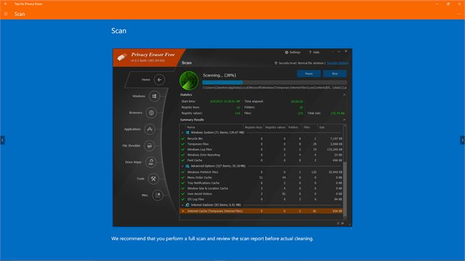 tracks eraser pro windows 10