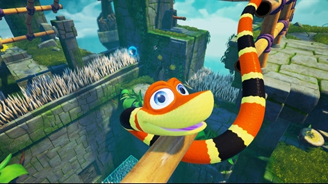 Snake Pass Screenshot