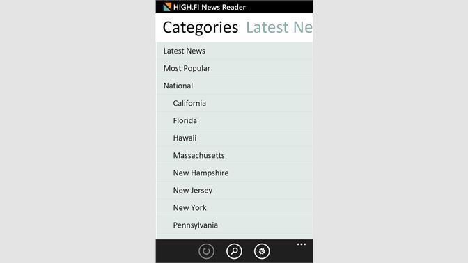 Get HIGH FI News Reader - Microsoft Store
