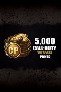 5,000 Call of Duty®: WWII Points