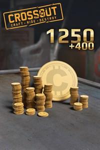 Carátula del juego Crossout - 1250 (+400 Bonus) Coins
