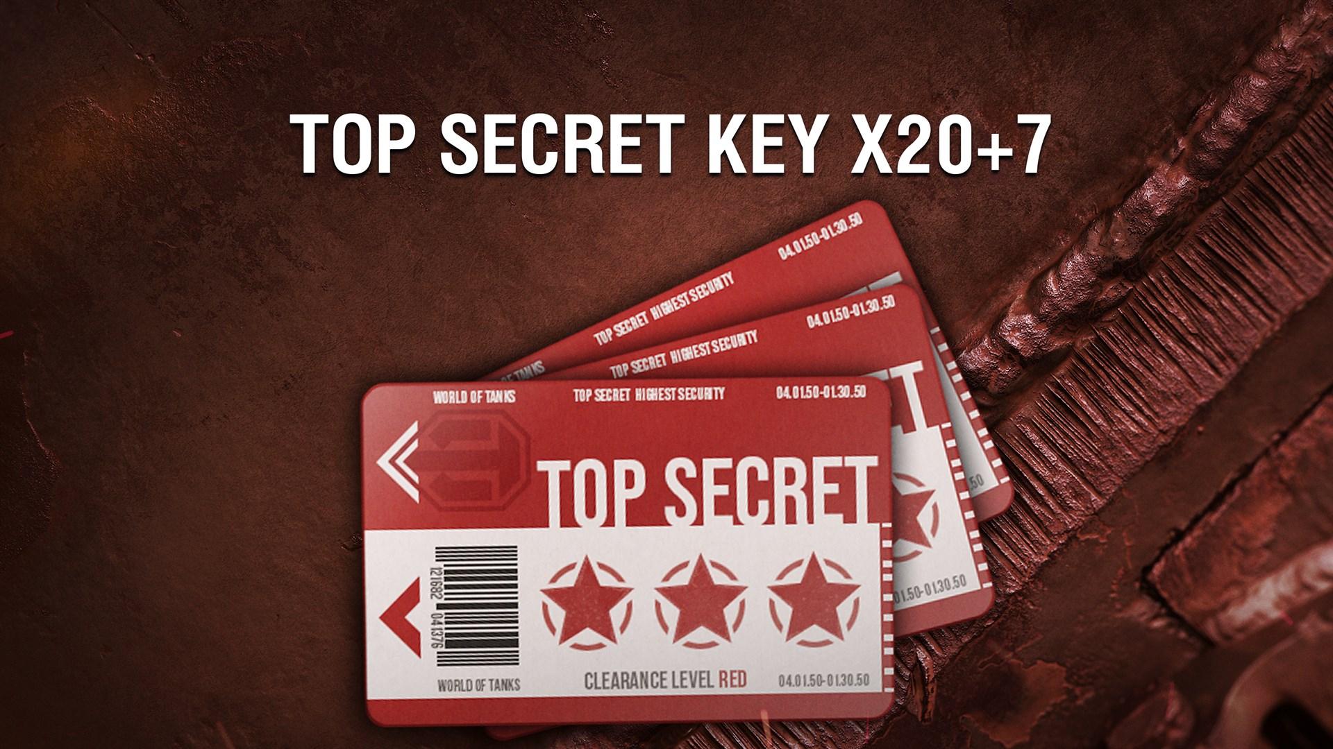 World of Tanks — 20 Сверхсекретных карт доступа + 7 как бонус!