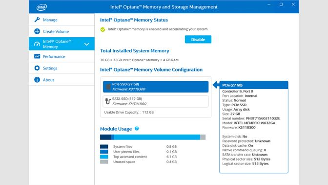 Intel® Optane™ Memory and Storage Management を入手 - Microsoft Store ja-JP