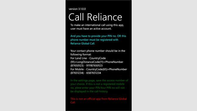 Get CallReliance - Microsoft Store