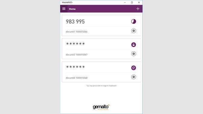 Get SafeNet MobilePASS+ - Microsoft Store