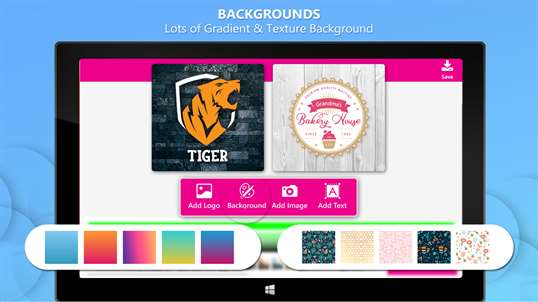 Logo Maker with Graphic Design and Ads Designer screenshot 1