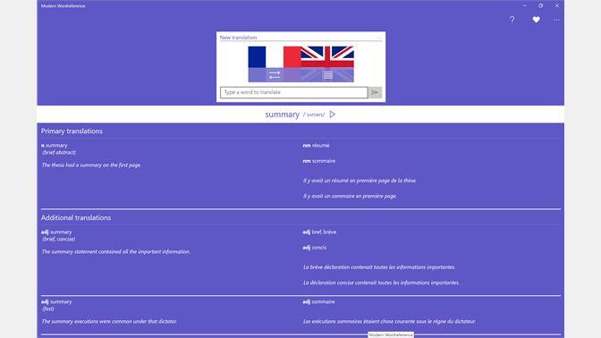 Get modern wordreference microsoft store screenshot negle Gallery