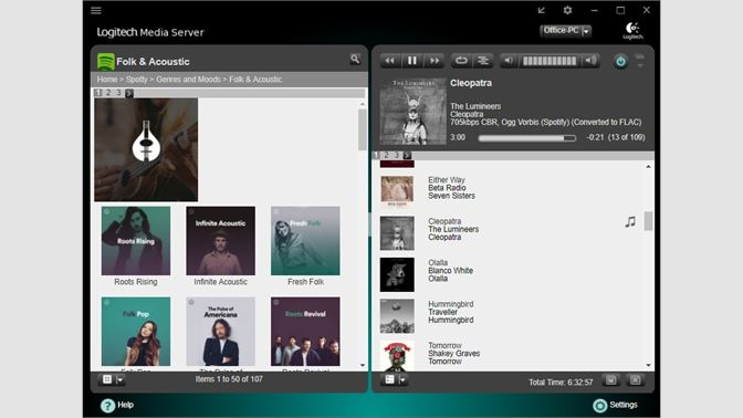 ad7cadcdde4 Integrated Browser Interface to Logitech Media Server ...