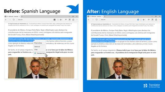 Translator for Microsoft Edge screenshot 4