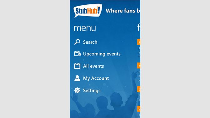 Get StubHub - Microsoft Store